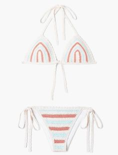 Mango  Bikini en crochet