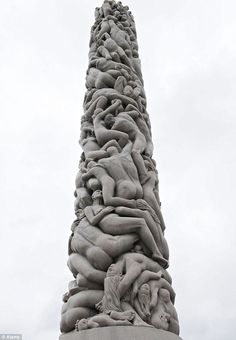 The most popular attraction sits at the highest point in the park. The 46ft high Monolith is made up of 121 human figures rising towards the...