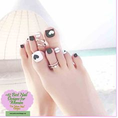 Summer Blue White Stripe Toes Nail Art Tips Pre Design Full Cover . Feet Nail Design, Pedicure Nail Designs, Toe Nail Designs, Pedicure Nails, Diy Nails, Swag Nails, Manicure, Pretty Toe Nails, Cute Toe Nails