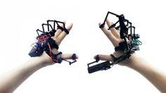 "Este guante robótico te permite ""tocar"" objetos virtuales"