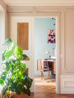 Casinha colorida: Anos 60: um apê estonteante em Paris