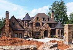 Kim Zolciak's New House-Love the Castle look!