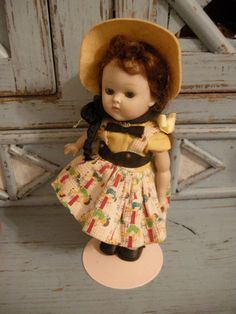 VIntage Kindergarten Ginny 1950's All Original