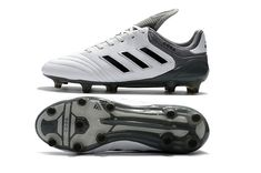 super popular b89c1 1ab2f 2017-2018 FIFA World CUP New Soccer Cleats Adidas Copa 17 1 FG White Grey  Black