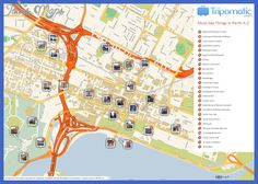 awesome Melbourne Map Tourist Attractions