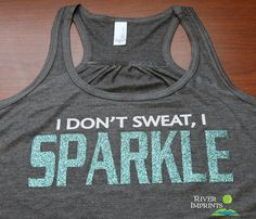 Hey, I found this really awesome Etsy listing at http://www.etsy.com/listing/130264888/sparkle-flowy-tank-workout-jersey