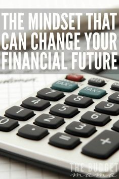 Your mindset can change your financial future for either the better or the worst. If you're finding yourself failing into this common trap, a shift in your mindset can set you free.