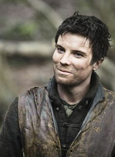 Joe Dempsie - fresh on the scene but Game of Thrones, Merlin, Doctor Who and Skins already