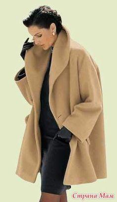 """Короткое пальто -""""свингер"""" летящего кроя. Комментарии : LiveInternet - Российский Сервис Онлайн-Дневников"""