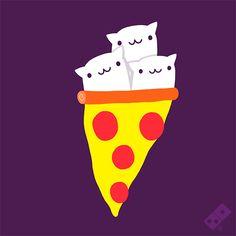 medusa pizzzzza cat roller :)