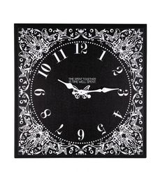"Time Spent Together (16x16 Clock). Beautiful clock with a timeless reminder and message: ""Time spent together is time well spent."" Great gift for mom! #realmoms"