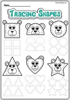 Free Bear-Themed Printable Worksheets   TeachersMag.com Bear Activities Preschool, Bear Theme Preschool, Free Preschool, Preschool Printables, Preschool Worksheets, Printable Worksheets, Free Printable, Spanish Activities, Kindergarten