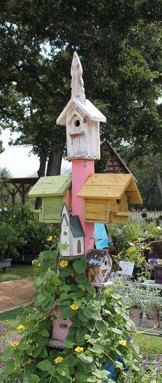 garden art from junk | ... Garden Art | Blending junk and vintage items into tasteful garden