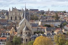 Poitiers, France, Cedric's castle and my family are from here