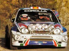 Toyota Corolla WRC. Carlos Sainz - Luis Moya.