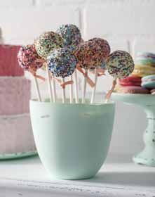 Sprinkled Cake Pops
