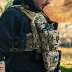 Plate Carrier Setup, Plate Carrier Vest, Tactical Armor, Tactical Wear, Special Forces Gear, Army Gears, Tac Gear, Chest Rig, Tactical Equipment