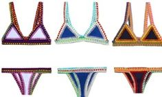 Kiini #crochet bikinis