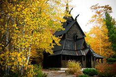 Stavkirke, Washington Island, Door County, Wisconsin