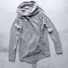 lovestitch - farah shawl cardigan
