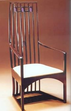 Art Nouveau Style Furniture Charles Rennie Mckintosh.
