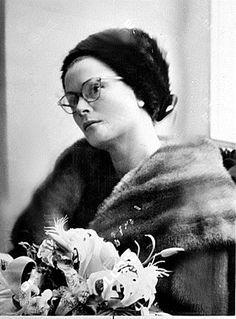 Grace & Family:  Grace in her glasses
