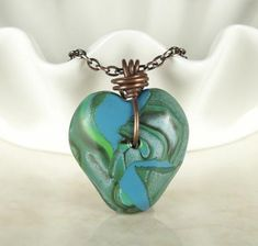 wired-orchid-teal-and-blue-polymer-clay-pendant-with-copper-wire-bail-21554248