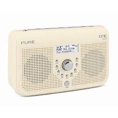 Radio in cream for kitchen Pure One, Dab Radio, Uk Tv, Pure Products, Cream, Amazon, Kitchen, Creme Caramel, Cuisine