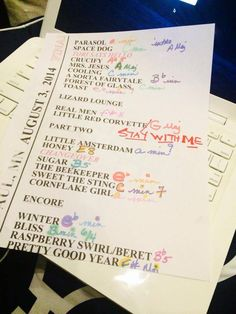 Here's the setlist from tonight show St Paul Minnesota! Tori Amos