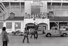 Native American teenagers on Alcatraz Island during the occupation in 1969