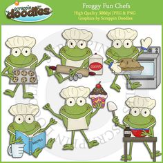 Scrappin Doodles Clip Art - Cute Graphics for Teacher Resources Frog Coloring Pages, Girly Cakes, Bullet Journal Art, Frog And Toad, Pictures To Draw, Classroom Decor, Line Drawing, Doodle Art, High Quality Images