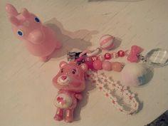 Pink bear ear cap