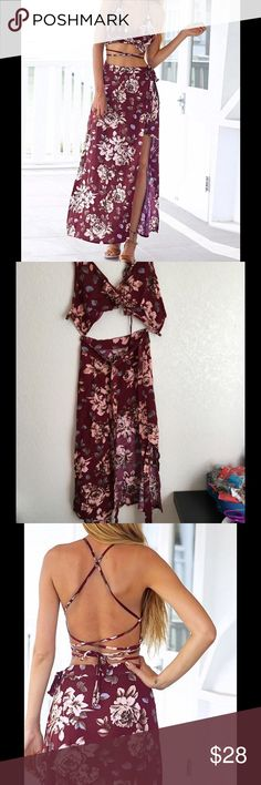 HOST PICK.  Beach Floral Dress So Fancy,Gorgeous Design! S and M size available.    L and XL size COMING SOON❤️❤️       Please comment the size you want to be notified when in stock to reserve 'one' for yourself!  Dresses Maxi
