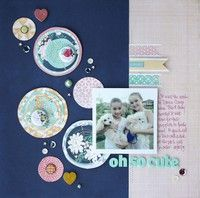 Oh So Cute by sherrifunk from our Scrapbooking Gallery originally submitted 09/15/13 at 08:24 PM