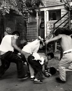Robert Yager, Gang Fight