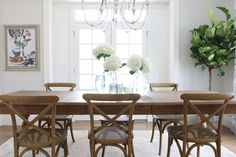 Dining Room Chairs and Styling