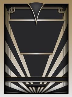 Free Art Deco Background