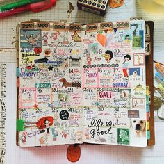 one good and crazy month. #travelersnotebook #frixion #planneraddictmalaysia