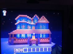 Tudor/Victorian Style Minecraft house pic 1