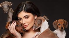 Beautiful Girls with Their Dogs , cute animal names Kylie Jenner Dogs, Happy National Dog Day, Jenner Family, Hollywood Life, Animals Of The World, Family Dogs, Dog Names, All Dogs, Dog Mom