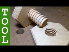 Ingenious Jig Allows You To Make Hex Nuts Out Of Wood - Digg