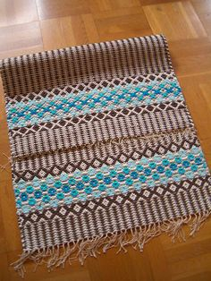 Forget me not Forget Me Not, Loom, Hand Weaving, Scrap, Rag Rugs, Tee Shirt, Weave, Home Decor, Decoration Home