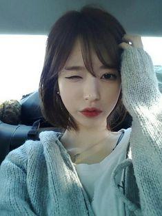 short korean hair tutorial - Google-søk                              …