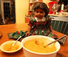 A Peek Into the Pantry: Addy's Sweet Potato Pudding