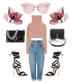 """""""Untitled #8"""" by shelby-a-willis on Polyvore featuring Karen Walker, Gianvito Rossi, Nine West, Valentino, Rebecca Minkoff and Miss Selfridge"""