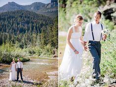Montana Mountain Wedding. michellekristine.com