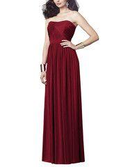 <h5>Description</h5> <ul> <li>Dessy Collection Style<span>2914</span> </li> <li>Fulllength bridesmaid dress</li> <li>Strapless soft sweetheart neckline</li> <li>Draped detail bodice</li> <li>Shirred skirt</li> <li><span>Maracaine jersey</span></li> </ul>