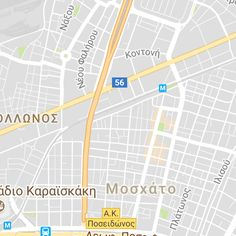 Athens - Piraeus - Glyfada Route Full Map