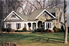 Plan W5601AD: Cottage, Traditional, Sloping Lot, Corner Lot, Photo Gallery House Plans & Home Designs