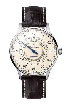 For Days to Remember Meistersinger the Pangaea Day Date (PR/Pics http://watchmobile7.com/data/News/2013/09/130903-meistersinger-Pangaea_Day_Date.html) (2/3) #watches #meistersinger
